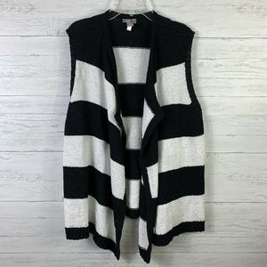 Chico's Cardigan Knit Sweater Open Front 2